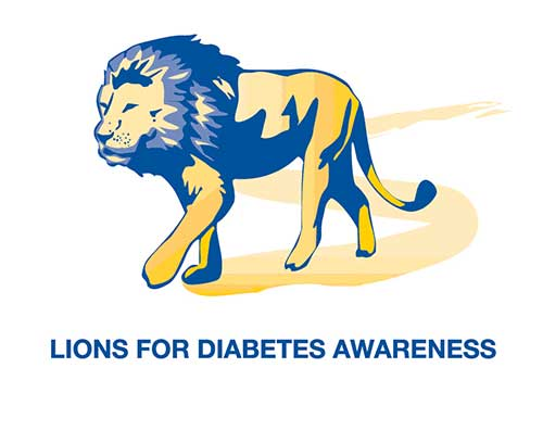 lions for diabetes awareness